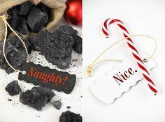 Homemade coal candy