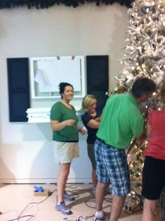 We are very busy setting up the Christmas showroom so many of you are waiting to see! We wanted to give you a little behind the scenes look at some of the people that make Treetime such a fun place to work!    Our showroom grand opening is September 4th.   Treetime Christmas Creations  22N102 Pepper Rd  Lake Barrington, IL 60010  www.treetime.com
