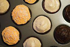 #Pumpkin cupcakes for #halloween.