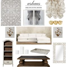 Neutral chic living
