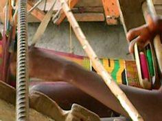 ▶ Kente Cloth Weaving in Ewe, Ghana. - YouTube  2:36