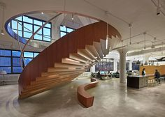 """WORKac moves away from """"office as playground"""" for Wieden + Kennedy HQ"""