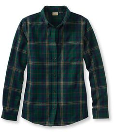 Scotch Plaid Shirt: Corduroy and Flannel   Free Shipping at L.L.Bean