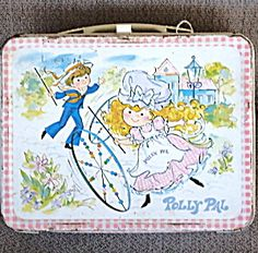 1974 Metal Polly Pal Lunch Box. Click on the image for more information.