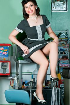 #pinup #pinupgirl :: Photo by: Billy Gilbert