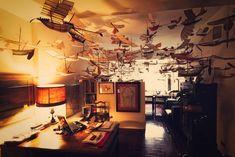 Retired Man Creates Hundreds of Hand-Built Flying Ships - My Modern Metropolis