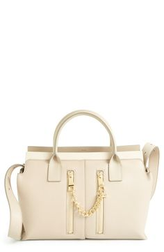This beige bag is so beautiful | Chloé 'Small Cate' Leather Satchel