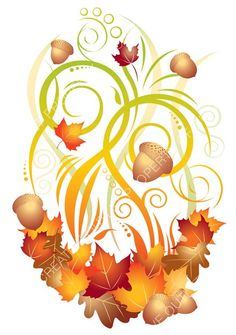Fall clip art images from creativeoutlet.com