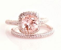 Tiffany and co pink diamond engagement ring
