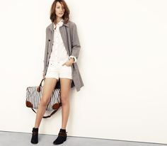 Madewell looks we love seeing stripes lookbook