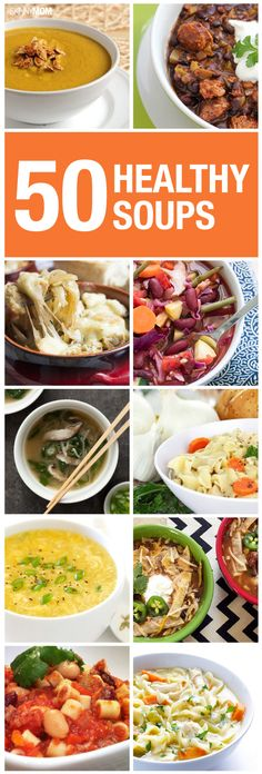 50 delicious soups you have to try!