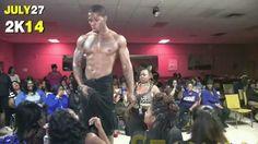 black male stripper of the week is sexy dude,  Sexxx Game. #sexyblackmen #bigbulge #blackmalestripper