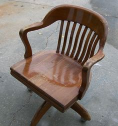 1953 Gunlocke Walnut Chair