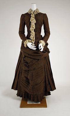 Wedding Dress #1882 #1880s #VBT