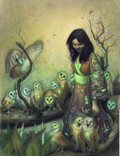 artists, betrayal, owl art, songs, maid