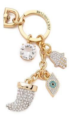 Juicy Couture Horn Keychain, I've been searching the web for days and this is sold out every where...I need it :(