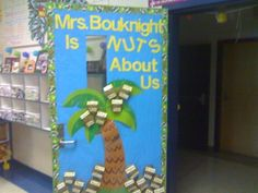 Nuts About Us Bulletin Board
