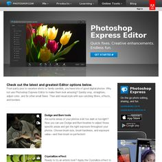 Photoshop Express - all of the basic image editing enhancing tools from the king of image editors - free - online