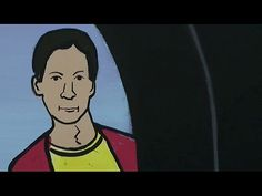"Abed makes himself into a cartoon. ""You have to believe, Troy!"""