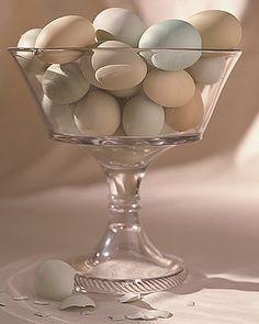 beautiful pastel eggs...