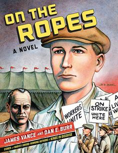 On the Ropes by James Vance & Dan E. Burr - The narrative is truly epic. Every page is a struggle for survival, with the characters barely scraping by while the world is collapsing around them. The art is clear, precise and atmospheric, which smooths the accessibility of this otherwise complex tale.