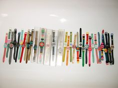 Swatch watches from the 80's.