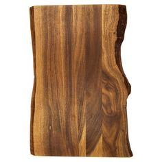 Present creamy brie and crispy crackers to your dinner party guests with this lovely acacia wood cutting board, featuring a no-slip design and natural hue. ...