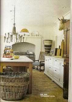 Kitchen in France :: Country French Antiques: Balader en France