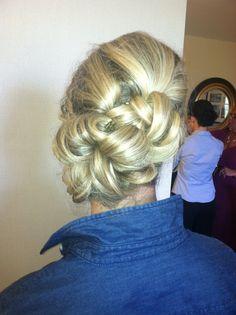 maid of honour hair