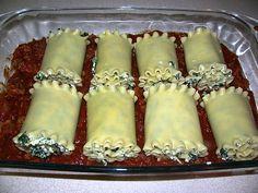 healthy lasagna rolls, yummi idea, healthi turkey, spinach lasagna, healthi food, soooooo yummi, eat healthi, recip, healthi lasagna