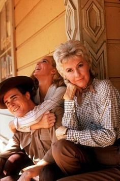 "Big Valley, The"" Linda Evans, Barbara Stanwyck 1965 ABC"