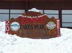 #PinPikesPeak pikes peak summit