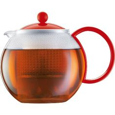 Bodum Assam Tea Press, 34-Ounce, Red