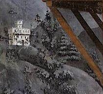 Massacio, La distribution de l aumône et la Mort d Ananie ( detail )