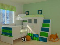 Bedroom on pinterest 135 pins - Tobogan infantil ikea ...
