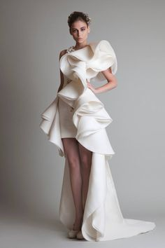 Krikor Jabotian Ruffled Beauty