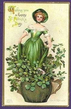 1911 St. Patrick's Day postcard (Clapsaddle)