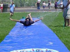 yard, 80s nostalgia, rememb, fun stuff, nut, summer fun, homemade slip n slides, pine, summer time