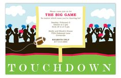 Touchdown Invitation by Picture Perfect