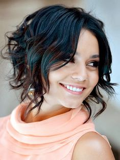 Short Hair Styles For Women 2014 This is so cute! Why didn't I curl my hair when it was this short?!