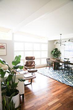 Minimal Bohemian Dining Room via Sycamore Street Press
