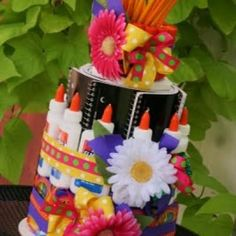 Teacher Appreciation Cake.