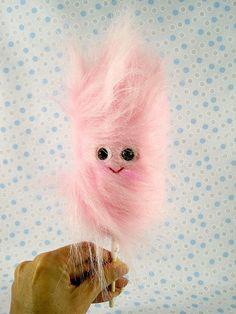 cotton candy plush