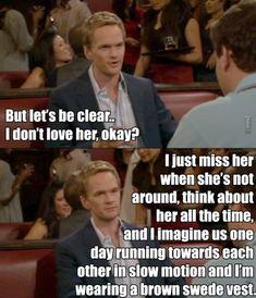 Barney in love :D  ~ HIMYM <3
