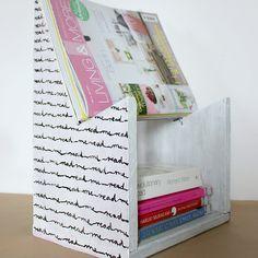 Love To-Go - happy little things: DIY: magazine rack