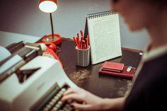 Orla Kiely 2013 desk from photo shoot