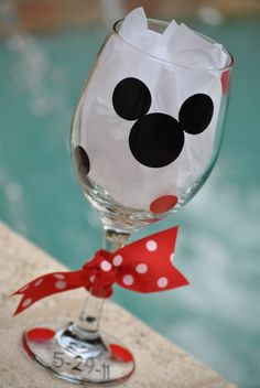 disney wine glasses, disney dish, party glasses, wedding gifts