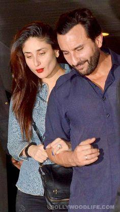 Spotted: Kareena Kapoor Khan and Saif Ali Khan after enjoying a romantic dinner- View pics!  #KareenaKapoor  #saifalikhan
