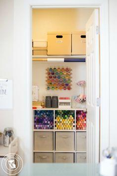 Easy Craft Room Orga
