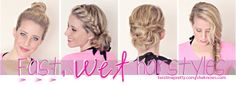 fast, wet hairstyles that'll keep you lookin fab this summer | Twist Me Pretty